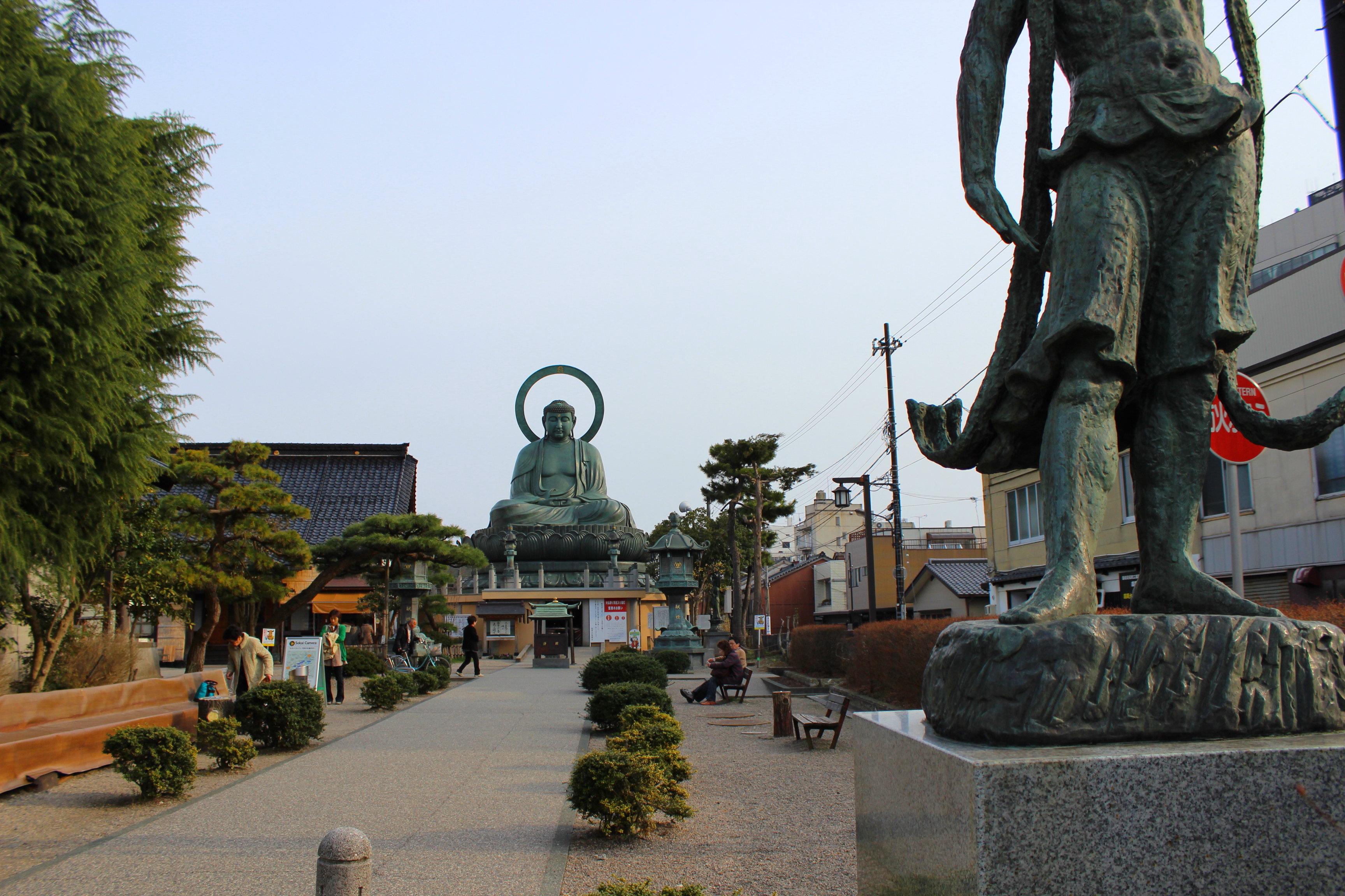 【高岡大仏】大きさ高さは?日本三大佛という真相を調べてきた