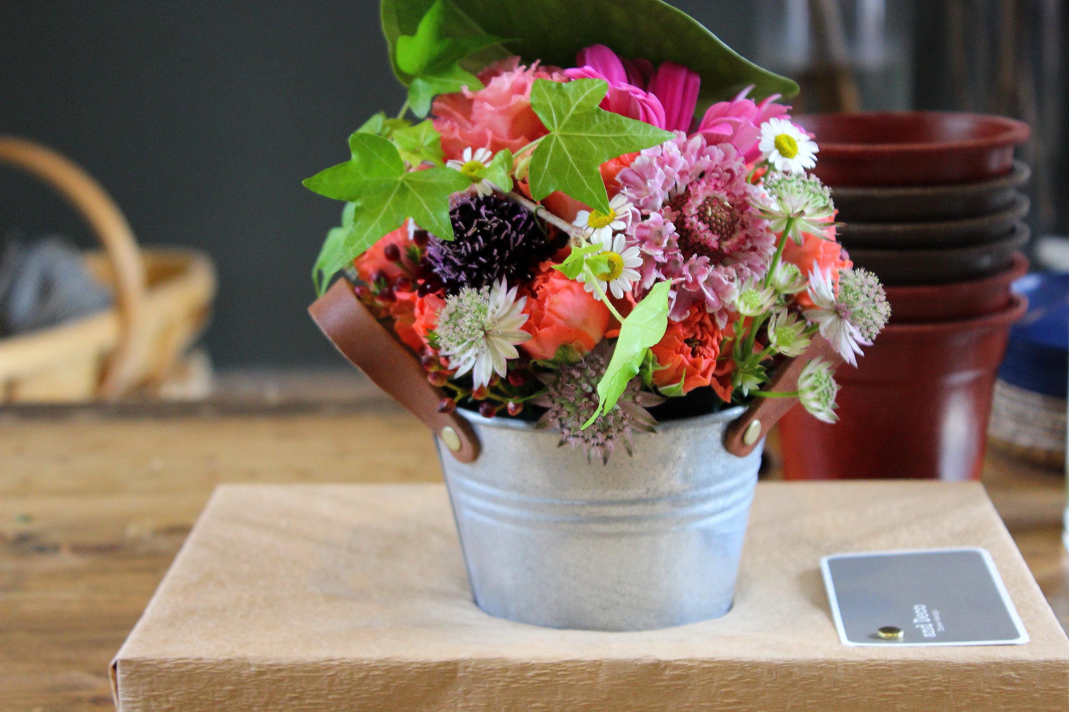 【and Deco アンドデコ】花の個性を考える素敵なお店に行ってきた