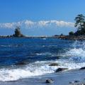【雨晴海岸】インスタ映え必須の絶景スポット!朝焼けも美しい