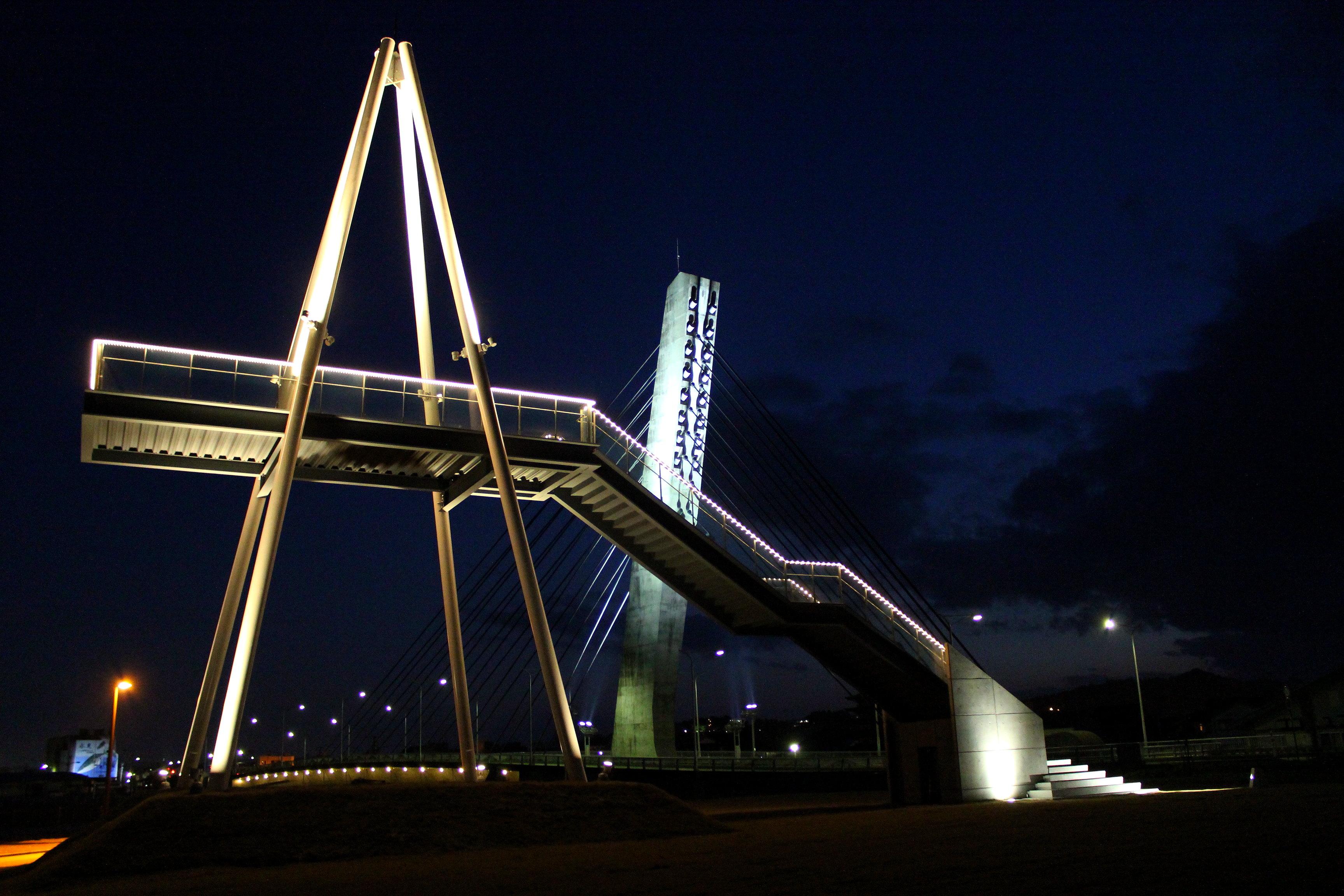 【比美乃江公園】氷見の潮風が気持ちいい夜景スポットに行ってきた