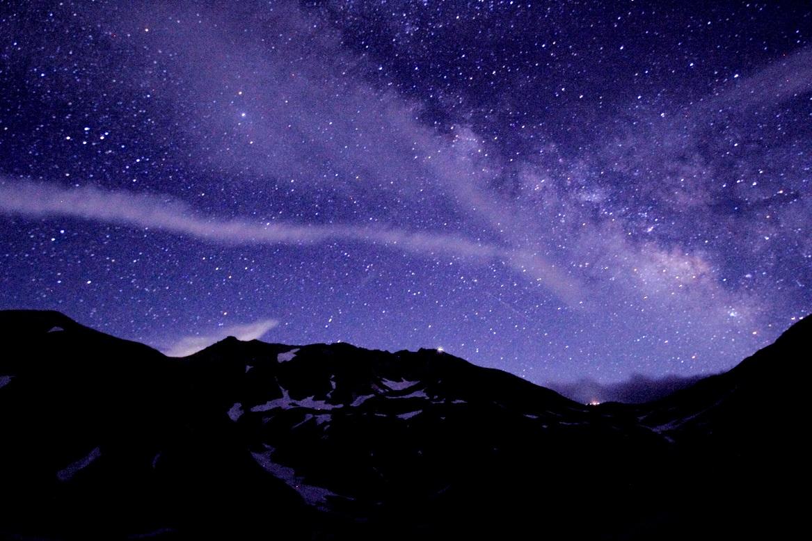 【雷鳥沢キャンプ場】星が迫りくる絶景を見に行ってきた!