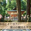 【富山で秋のおでかけ2020】おすすめ観光スポットをまとめてみた