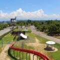 【歌の森運動公園】すごろくや展望台もあって楽しい!射水の公園