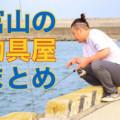【富山の釣具屋】釣り人必見!初心者でもお勧めのお店5選まとめ