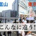【富山と東京の違いあるある20選】毎日が山王祭?衝撃を受けたまとめ