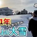 富山の大雪でみんな出勤できてるの?1月12日のTwitter情報まとめ